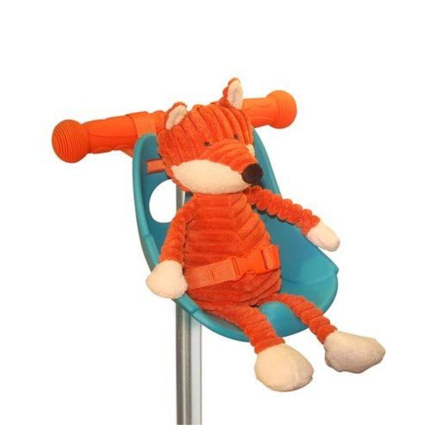 Scootaseatz doll seat for scooter aqua