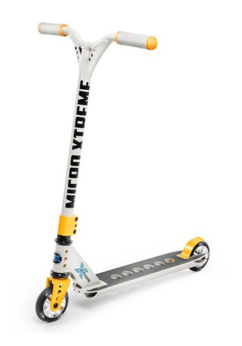 Micro MX Trixx 2.0 Grey Yellow + PEGS