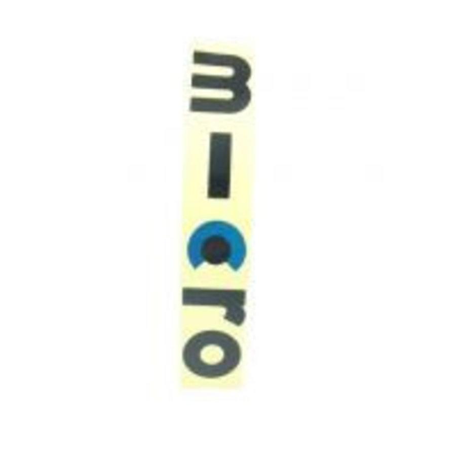 sticker voorkant Mini Micro Classic