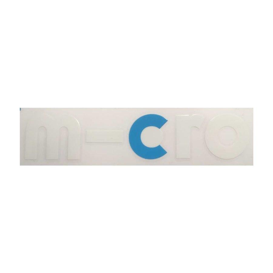 sticker voorkant Micro 2-wiel step