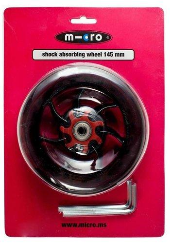 Micro wiel 145mm schockabsorberend (AC5008B)