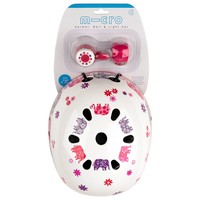 Micro Sprite Raspberry floral dot