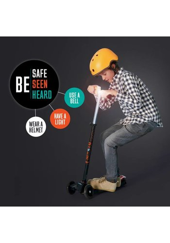 Micro safety set helm/bel/lampje