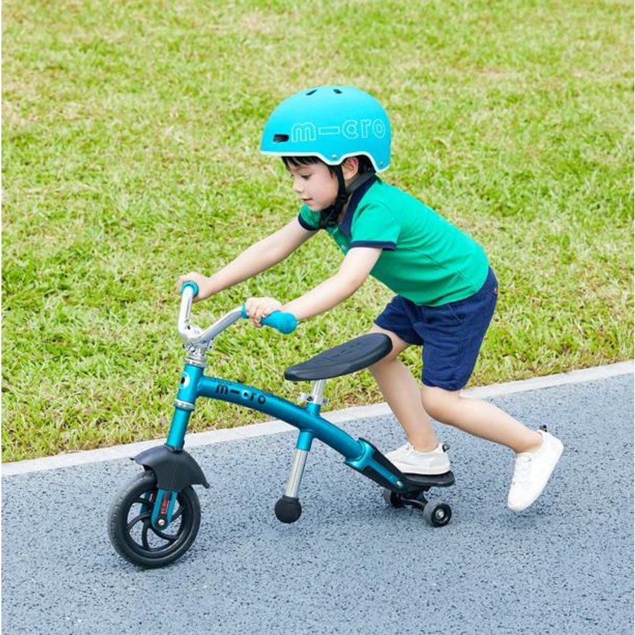 Micro Loopfiets G-bike Carver Deluxe 2in1 aqua