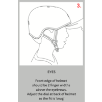 Micro helmet Deluxe Aqua
