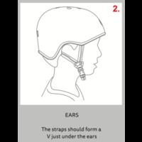 Micro ABS helmet Deluxe Headphones navy/pink