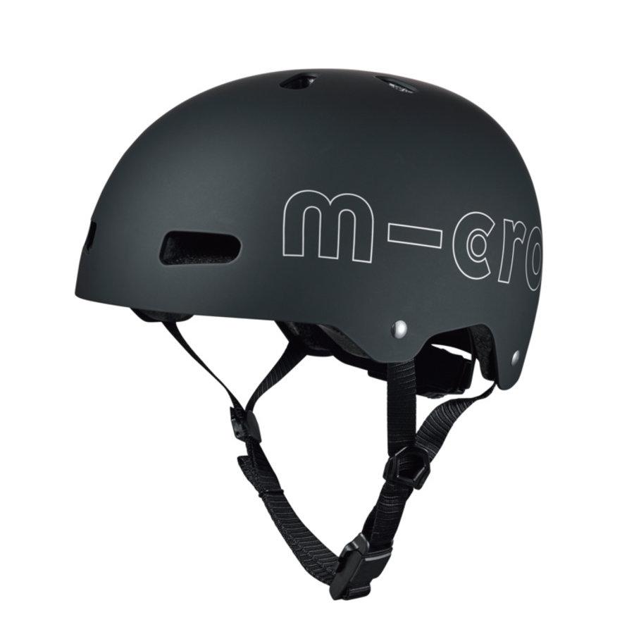 Micro ABS helm Deluxe Zwart