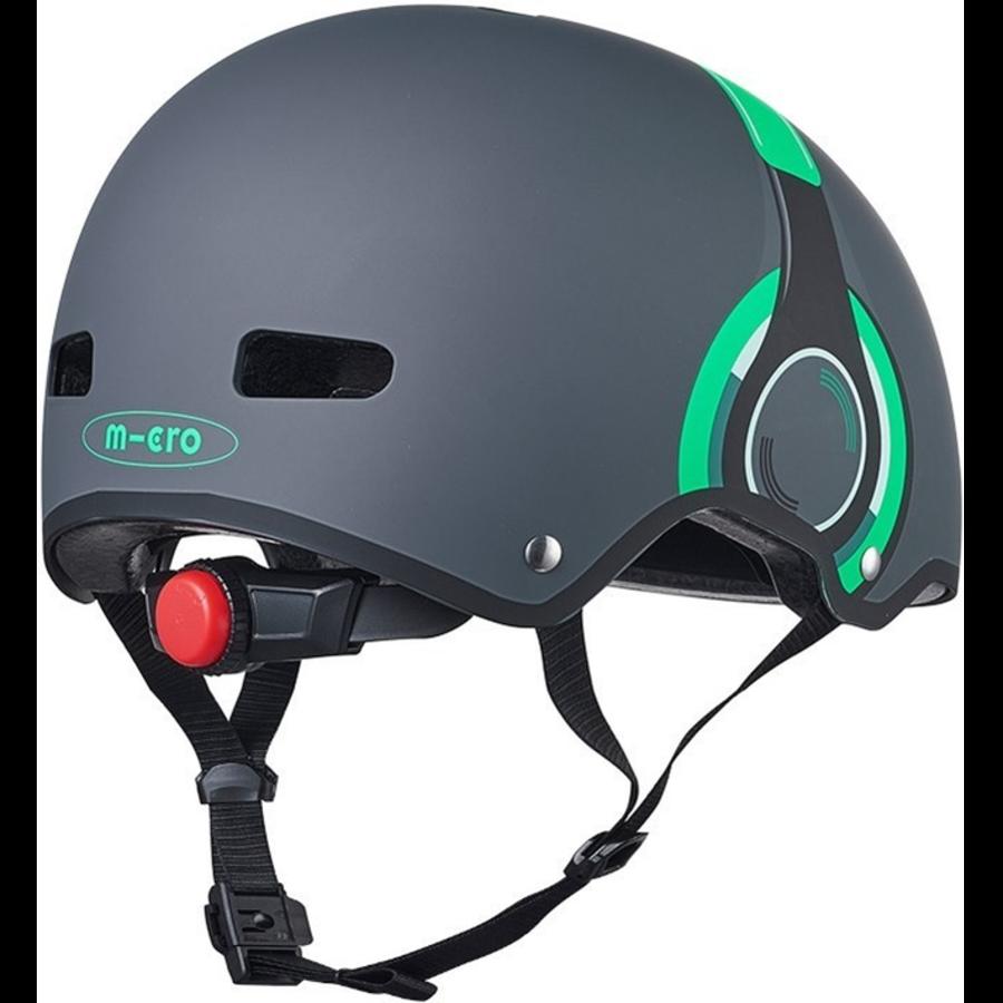 Micro helm Deluxe Headphones grijs/groen