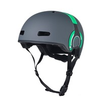 Micro helmet Deluxe Headphones grey/green