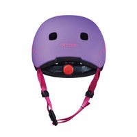 Micro helmet Deluxe Purple Floral