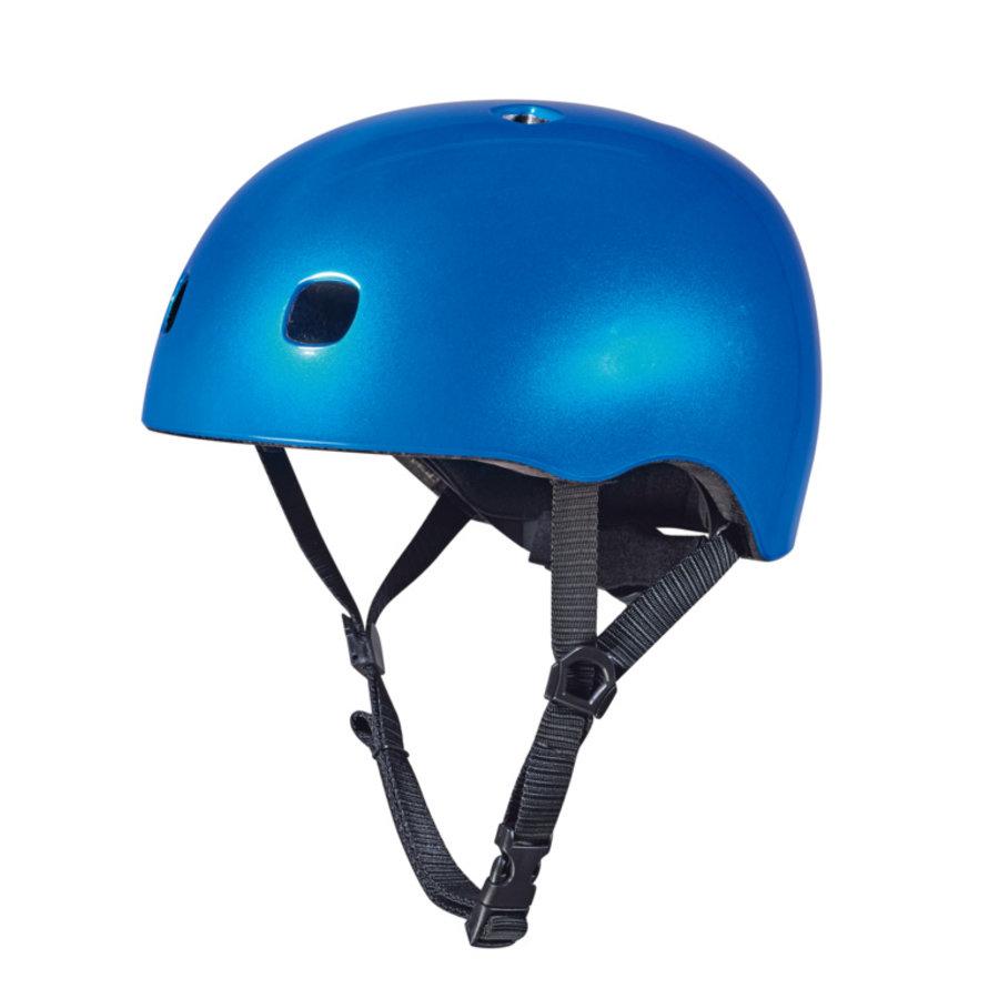 Micro helm Deluxe Blauw metallic