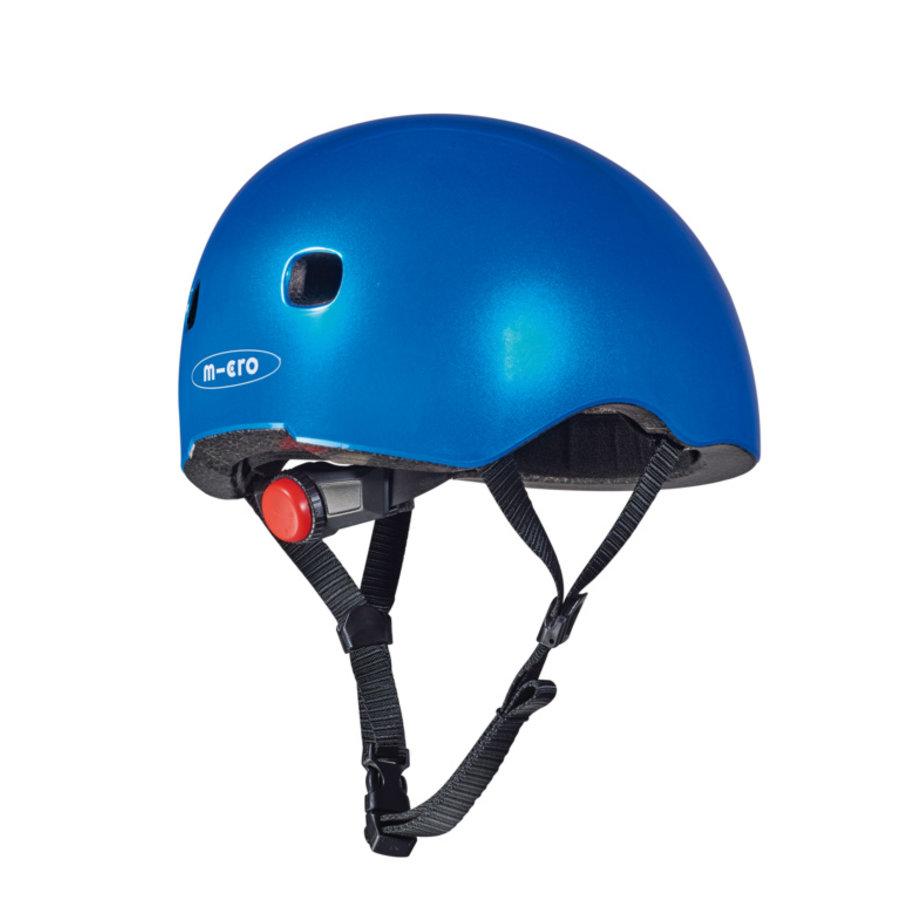 Micro helmet Deluxe Blue metallic
