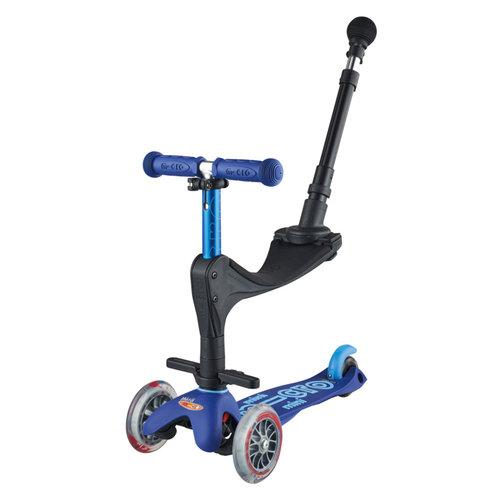 Mini Micro step 3in1 Deluxe Push blauw