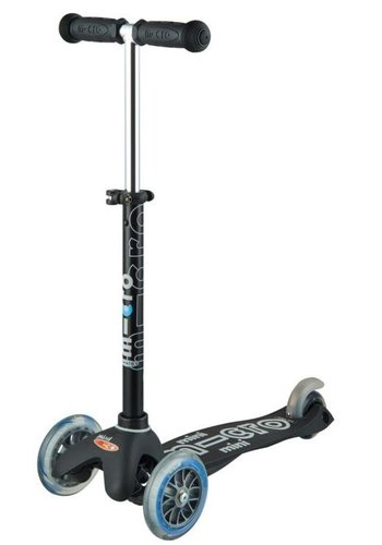 Mini Micro scooter Deluxe Black