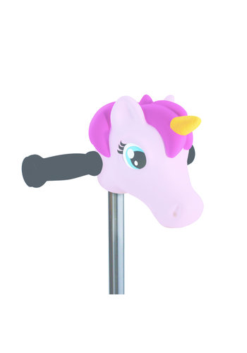 Scootaheadz unicorn Light Pink