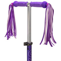 Micro scooter purple ribbons