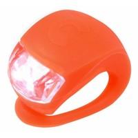 Maxi Micro step Deluxe aqua/oranje LED