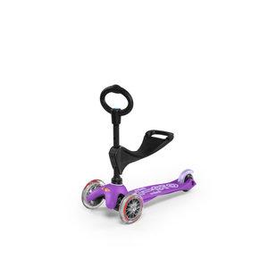 Mini Micro scooter 3in1 Deluxe Purple