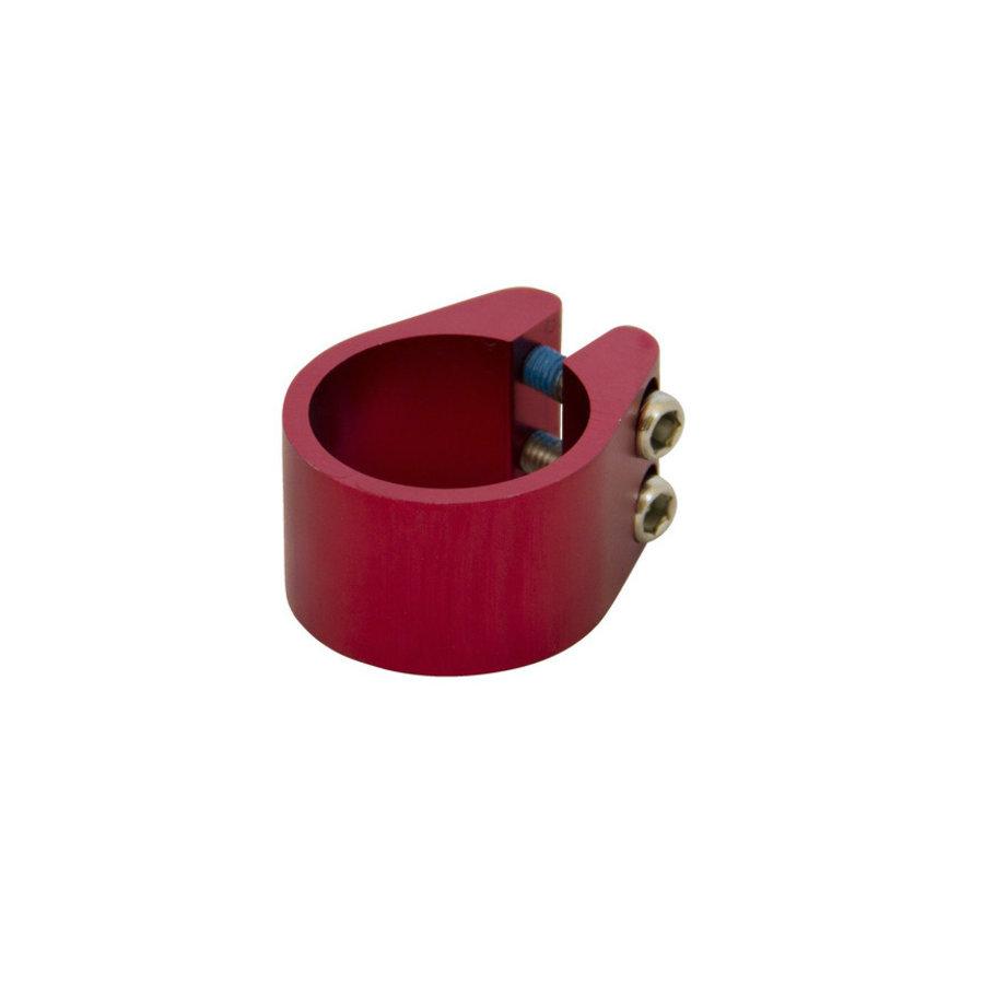 Stuurklem 2-wiel step - Rood geannodiseerd(1365)