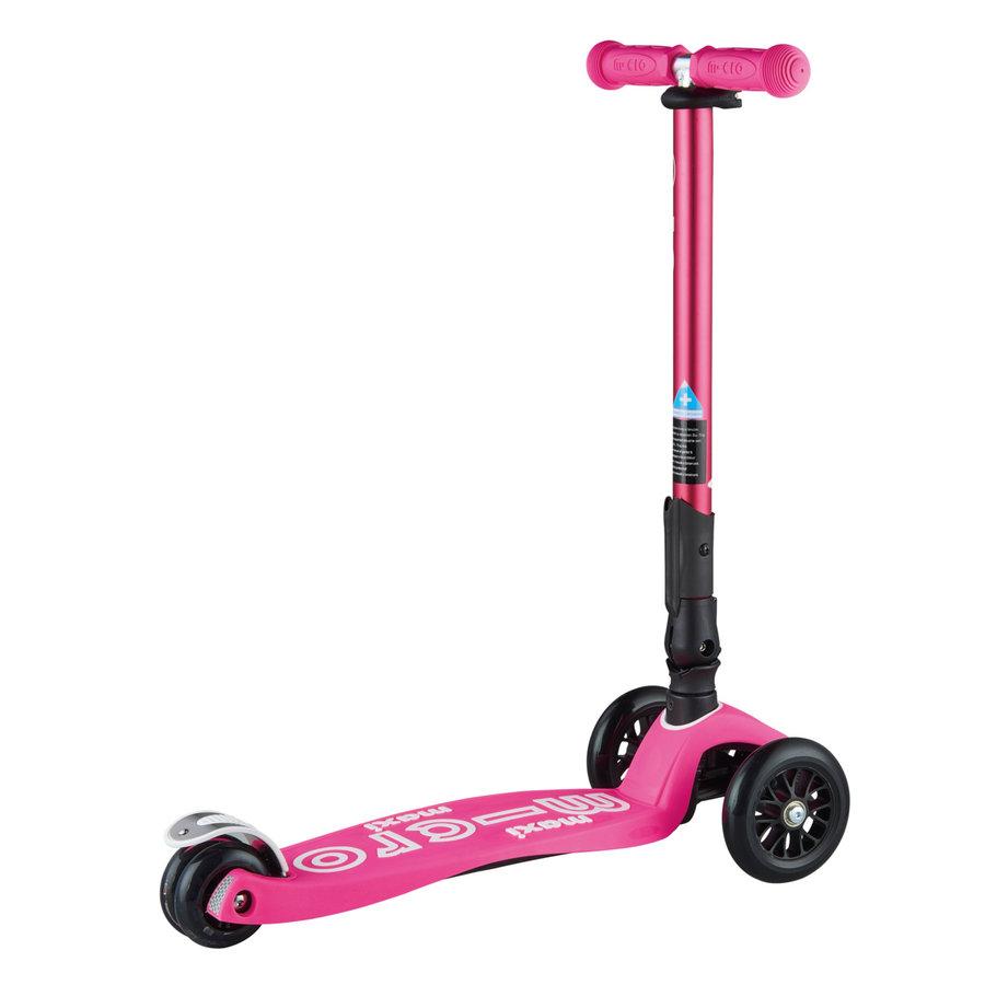 Maxi Micro step Deluxe inklapbaar neon roze