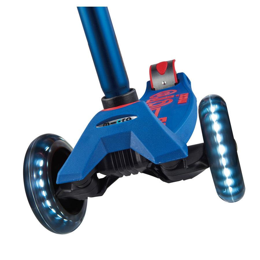 Maxi Micro scooter Deluxe Blue LED