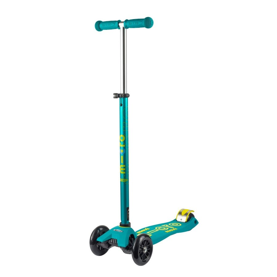 Maxi Micro scooter Deluxe Petrol Green