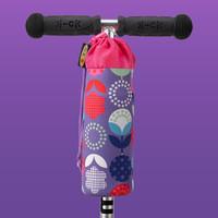 Micro Bottle holder purple flowers