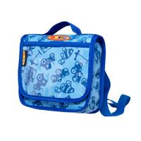 Mini Micro backpack blue print