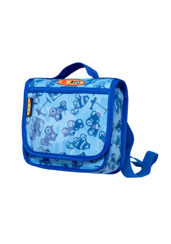 Mini Micro backpack blue print