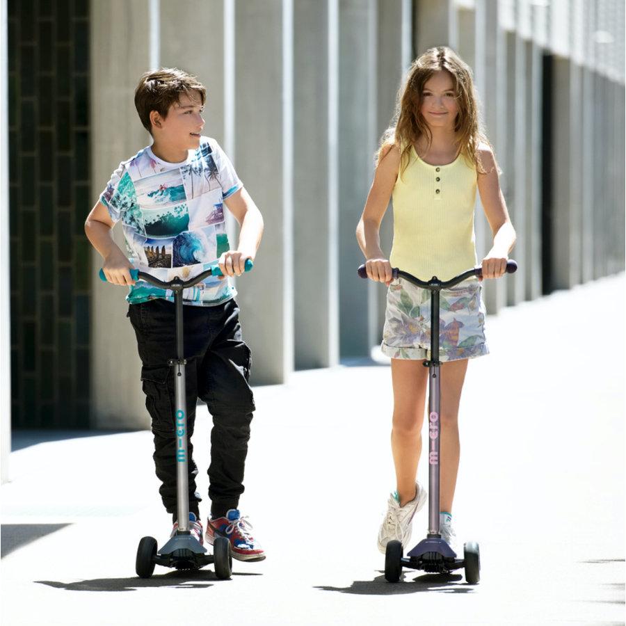 Maxi Micro scooter Deluxe Pro Grey/Aqua