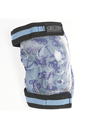 Micro Knee and Elbow Pads blue