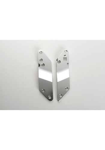 Holder plates Flex silver (1007)