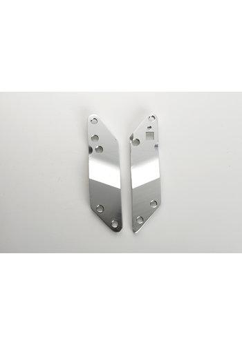 Holder plates Flex zilver (1007)