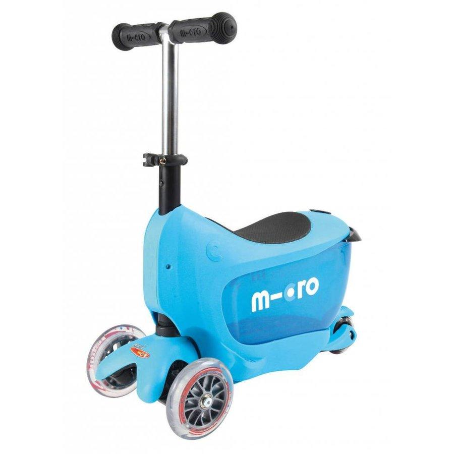 Micro Mini2go Deluxe blauw