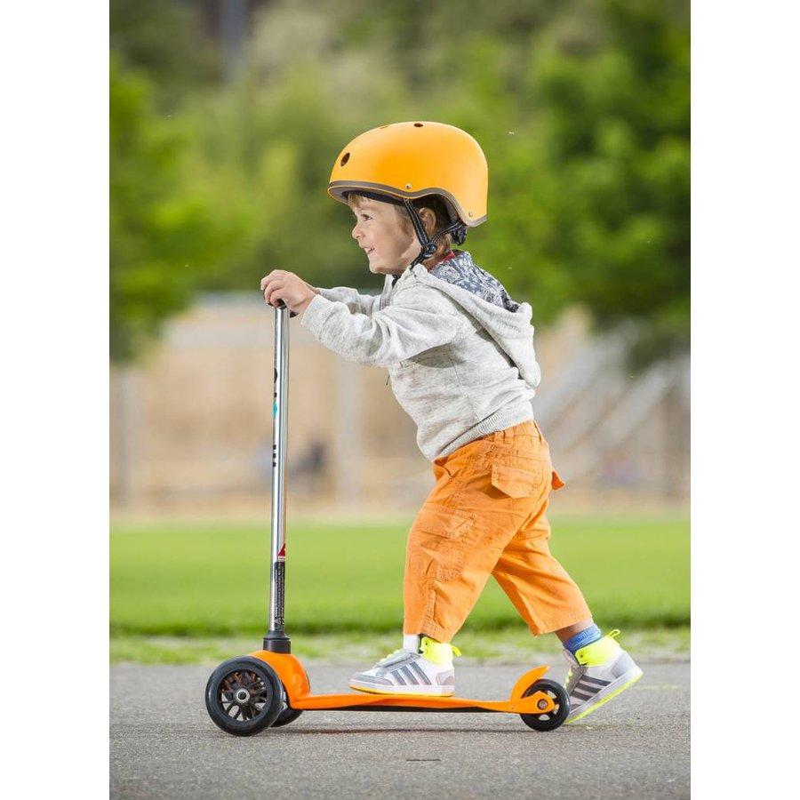 Micro helm Classic mat Oranje