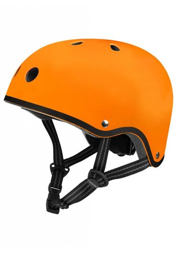 Micro helm mat oranje