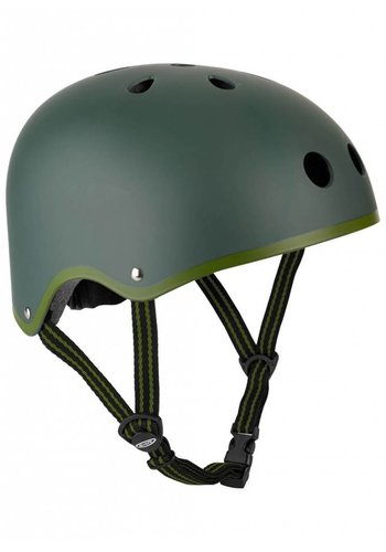 Micro helm mat legergroen
