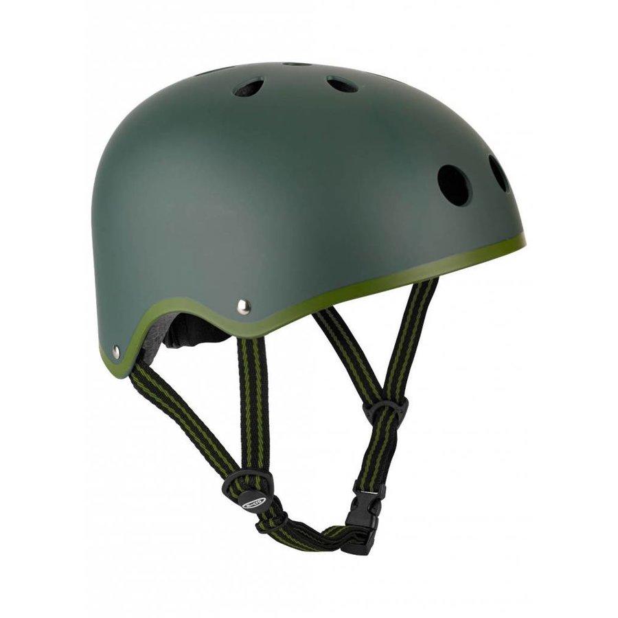 Micro helm Classic mat Legergroen
