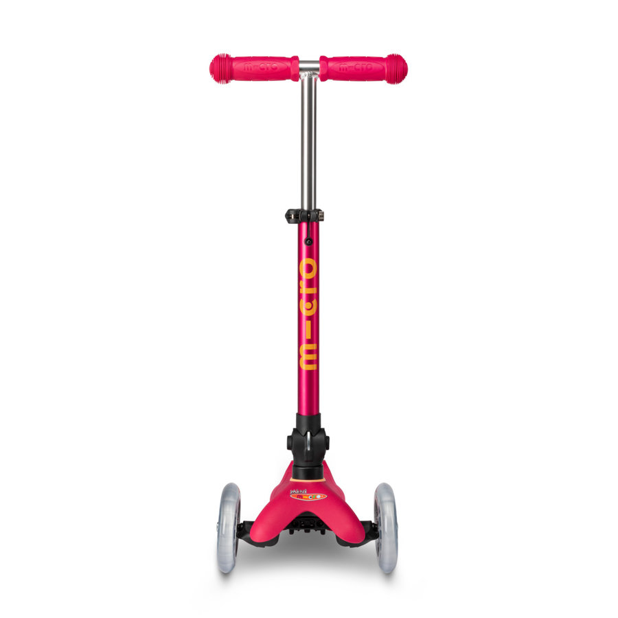 Mini Micro scooter Deluxe foldable Ruby pink