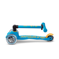 Mini Micro scooter Deluxe foldable Ocean Blue