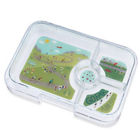 Yumbox Tapas extra tray with 4 or 5 sections