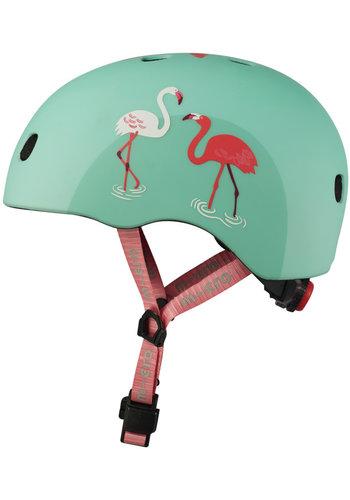 Micro helmet Deluxe Flamingo