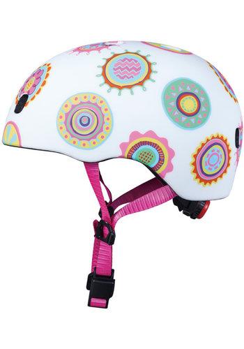 Micro helmet Deluxe Doodle dot