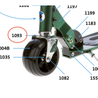 Stuurvork Micro Rocket (1093)