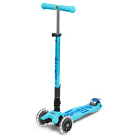 Maxi Micro scooter Deluxe Foldable Blue LED