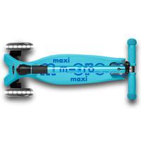 Maxi Micro step Deluxe inklapbaar blauw LED