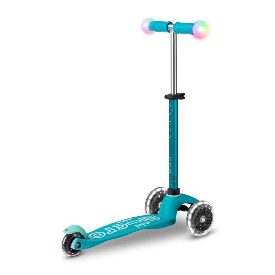 Mini Micro scooter Deluxe Magic Aqua