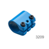 Stuurklem Trixx/Freeride blauw (3209)