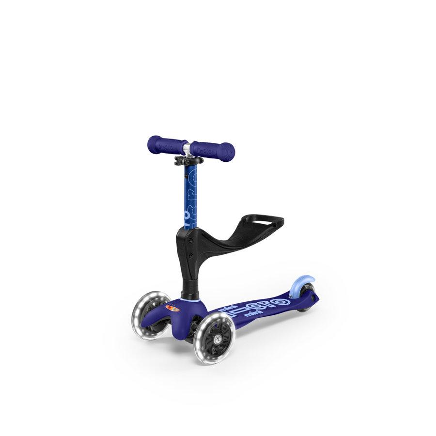 Mini Micro 3in1 Deluxe Push LED Blue