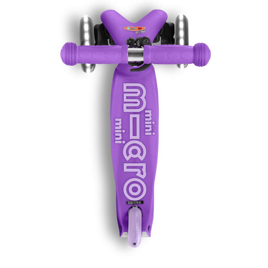 Mini Micro scooter Deluxe Purple LED
